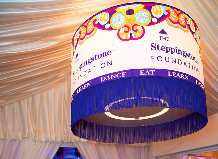 LED Lampshade for Gala event
