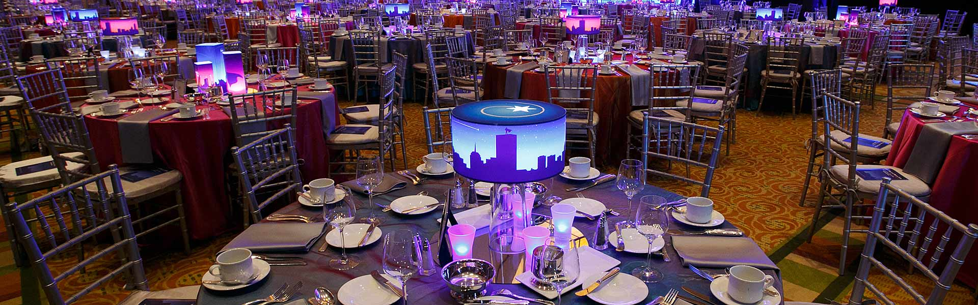 Custom Designed Lamp Shades for Special events