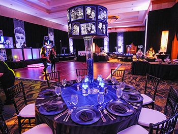 Persoanlized Centerpieces and columns for Special Events, Trade Shows, Bar/Bat Mitzvahs